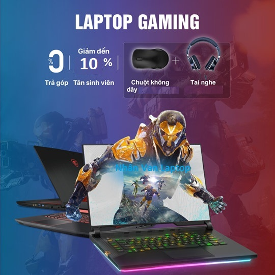 Laptop Gaming & Workstation Giá rẻ